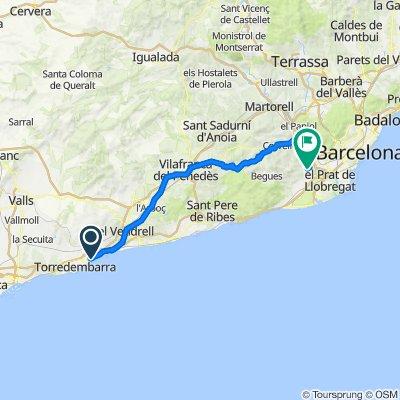 De Unnamed Road, Creixell a Carrer d'Eusebi Güell 27, Sant Boi de Llobregat