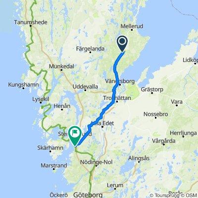 Holmsgatan 9, Brålanda to Getskärsvägen 1–7, Stora Höga