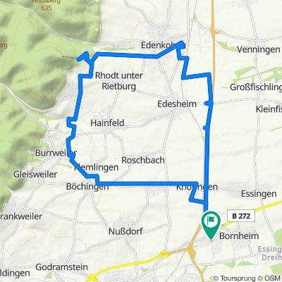 Meine Route 1