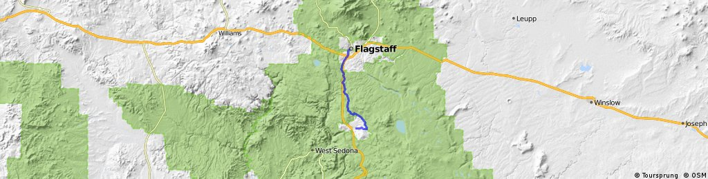 Flagstaff to Munds Park