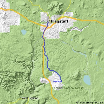 Flagstaff to Munds Park