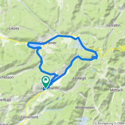 Fietsen in de Vogezen langs La Bresse