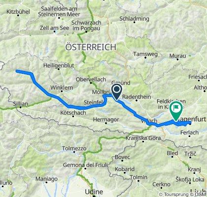 Drauradweg - Virgental - Wörthersee