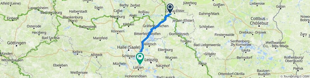 K2010 5, Lutherstadt Wittenberg nach Glasauer Weg 55, Markranstädt