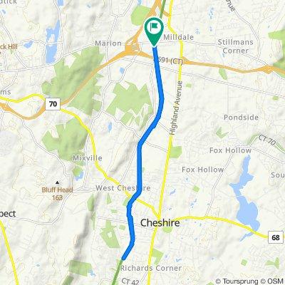 575 Canal St, Plantsville to 575 Canal St, Plantsville