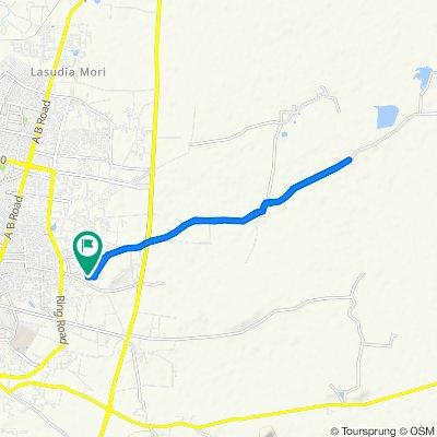 Kanadia Main Road, Indore to Indore