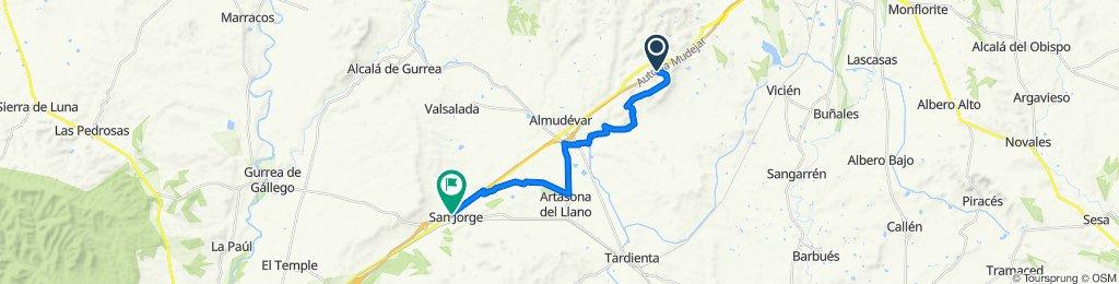 Canteras-Artasona-San Jorge