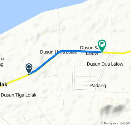 Jalan Trans Sulawesi, Lolak to Jalan Trans Sulawesi, Lolak