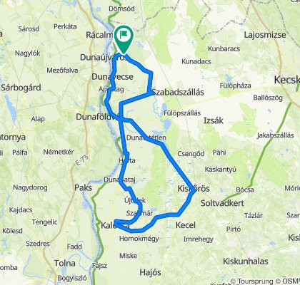 Bács-Kiskun megye - Route 2