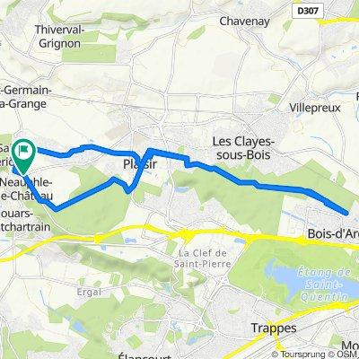 De 5 Rue Marius Minnard, Neauphle-le-Château à 5 Rue Marius Minnard, Neauphle-le-Château