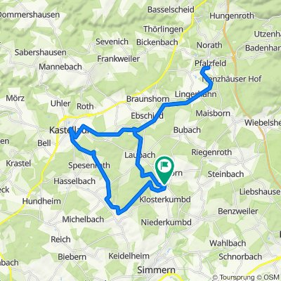 Birkenhof - Pfalzfeld - Kastellaun