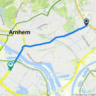 IJsselburcht 4, Arnhem naar Nijmeegseweg-Oost, Arnhem