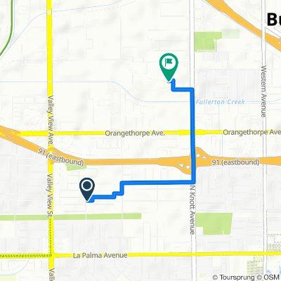 6251 Gaines Way, Buena Park to 6635 Caballero Blvd, Buena Park