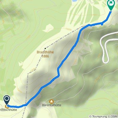 Route von Prössinggraben 31, Frantschach-Sankt Gertraud