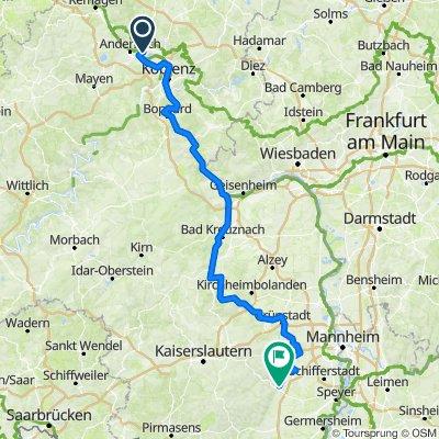 BRT2019-SA: Brevet Neuwied - Neustadt/W. - Marathon des Audax Club Schleswig Holstein v. 2000 e.V. - 201 km Strecke