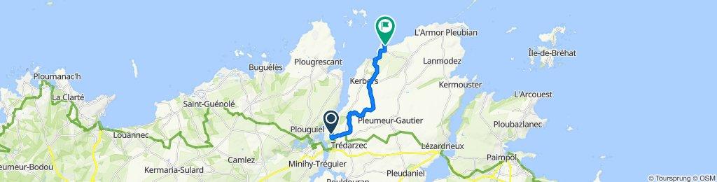 De 3 Kervengant, Trédarzec à 11 Saint-Laurent, Pleubian