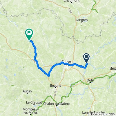 Jour 9 : Maxilly-sur-Saône > Montbard