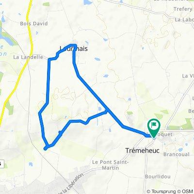 Le Chatrousse, Trémeheuc nach 4 Le Chatrousse, Trémeheuc