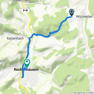 Frisörtermin, Donnersbergkreis nach Kreuznacher Straße 9, Rockenhausen
