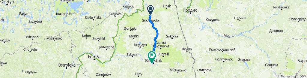 to bialystok