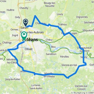 est orleans 102km