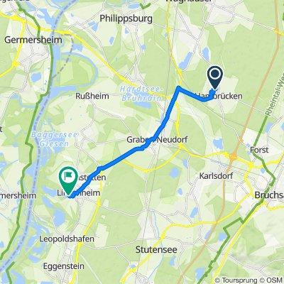 Hardtweg 8, Hambrücken nach Im Gründel 3, Linkenheim-Hochstetten
