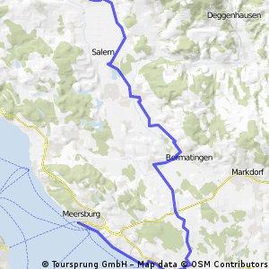 Frickingen - Meersburg