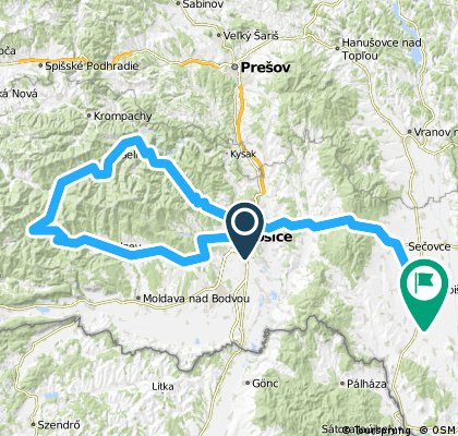184,0 km Štos kúpele- Gelnica ...