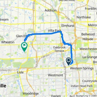 809 N Madison St, Hinsdale to 2S513–2S599 S Park Blvd, Glen Ellyn