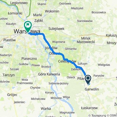 Miętne do Marszałkowska 343, Warszawa
