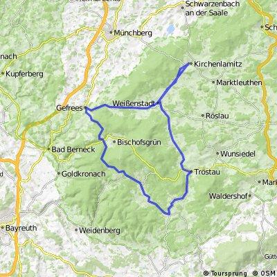 Kirchenlamitz - Fichtelberg - Brand