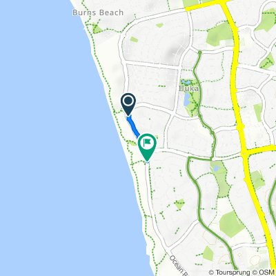 605 Burns Beach Road, Iluka to Ocean Reef Road, Ocean Reef