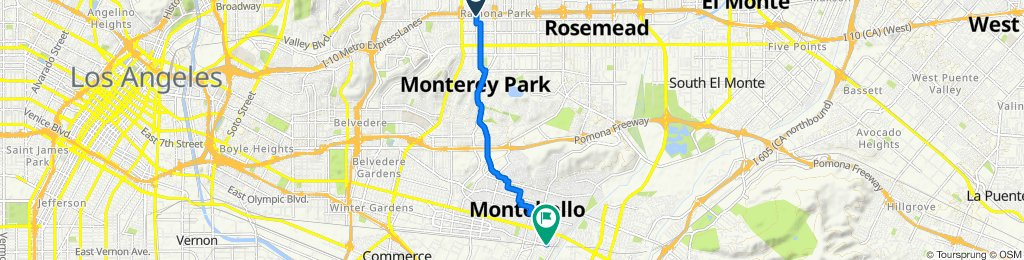 2014–2026 S 6th St, Alhambra to 340 W Olympic Ln, Montebello
