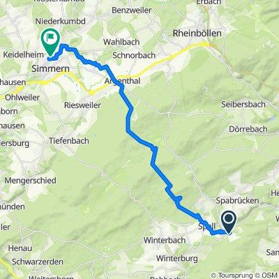 In der Beun 13, Argenschwang nach L218 74, Simmern (Hunsrück)