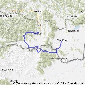 136,0 km Moldava n/Bodvov