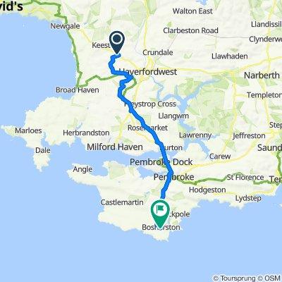 A487, Haverfordwest to Garthwen, Windsor Road, Pembroke