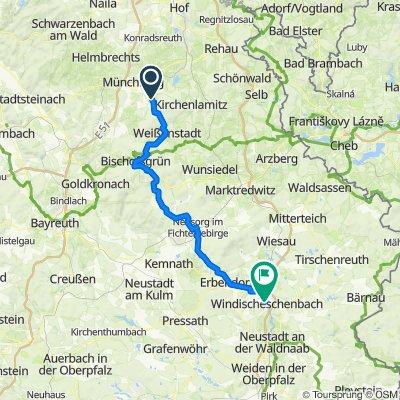 RT03 Ostsee München - Fichtelnaab-Radweg