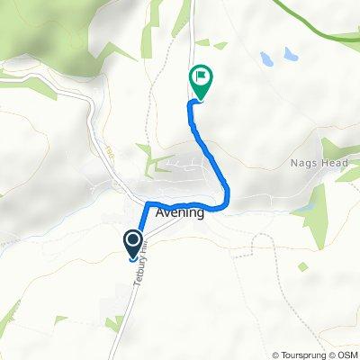 31–35 Tetbury Hill, Tetbury to Hampton Hill, Tetbury