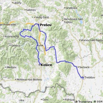 146,0 km Cemjata- Prešov