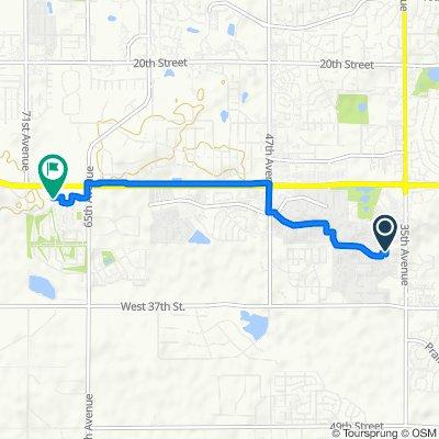 3200 Rhythm Rd, Evans to 6767 29th St, Greeley