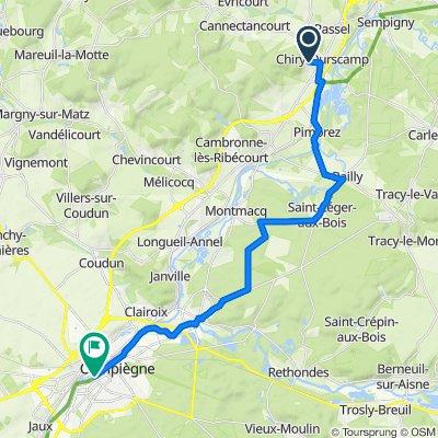 Easy ride in Compiègne