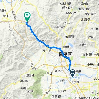 Fanghua East Road, Beijing to Exit 58, G6 Jingzang Expressway, Beijing