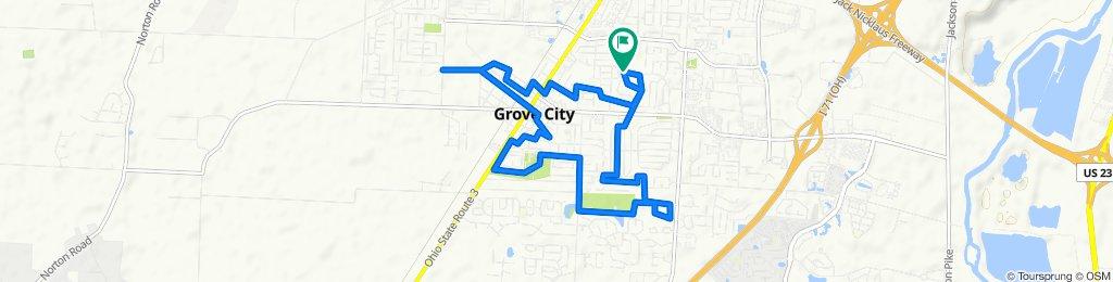 2852 Dennis Ln, Grove City to 2860 Dennis Ln, Grove City