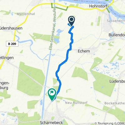 Route nach Doktor-Karl-Heinrich-Weg, Scharnebeck