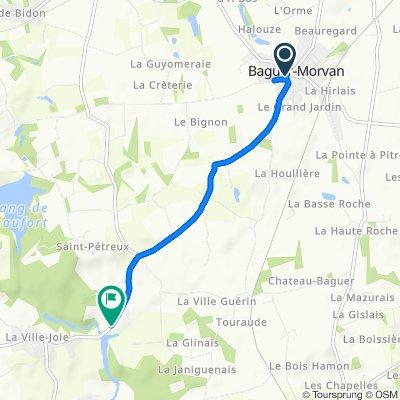 De Place de l'Église 1, Baguer-Morvan a Pont Menet, Baguer-Morvan
