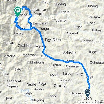Mali-ao to Camandag