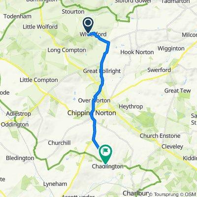 Shipston-on-Stour to West End 5, Chadlington