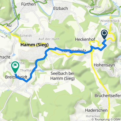 Baumschulenweg 3, Roth nach Bahnhofstraße 18, Breitscheidt