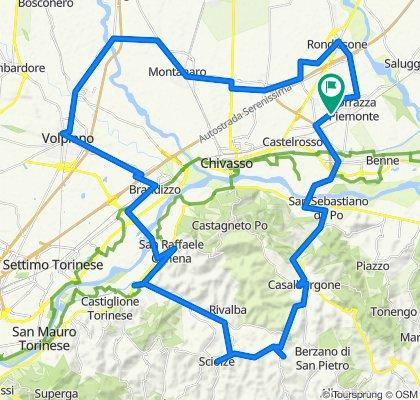 Da Strada del Procco 4, Torrazza Piemonte a Strada del Procco 4, Torrazza Piemonte