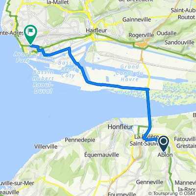 De Chemin des Buis 33, Ablon à Avenue du Général Leclerc 3, Le Havre